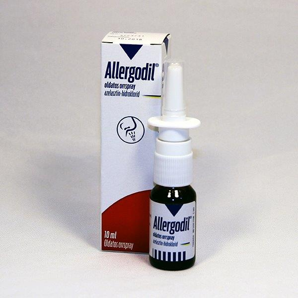 Allergodil oldatos orrspray 10 ml