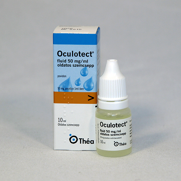 Oculotect fluid 50 mg ml szemcsepp 10 ml